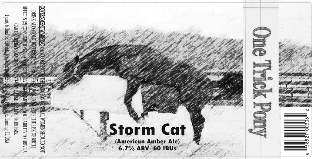 One Trick Pony Stormcat