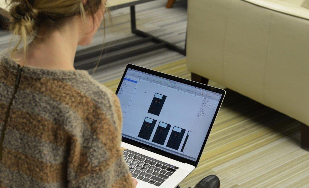 Nautilus' Product Design Lead, Kristi Grassi, focusing on User Experience.