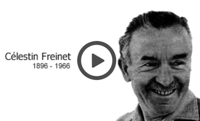 Här kan du se en film om Celestin Freinet.