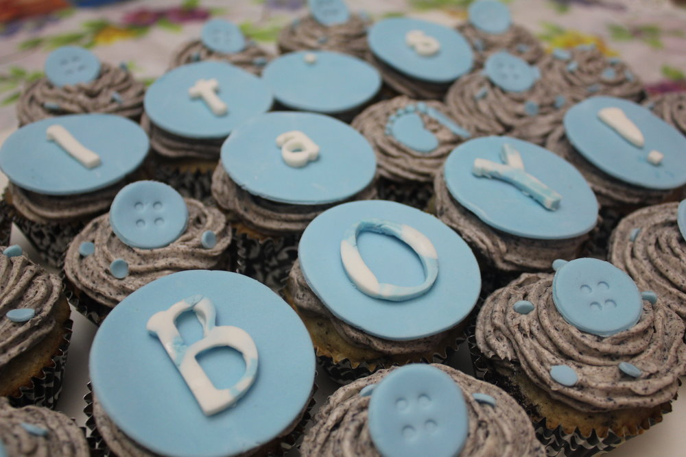 Oreo Baby Shower Cupcakes Meliza Hernandez