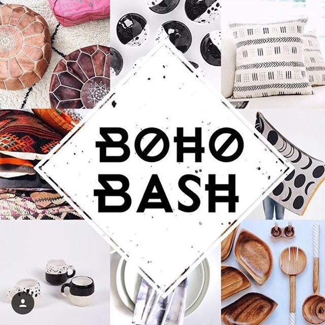 If you are in the Denver area today please stop by Cobblers Square from 10-6 for the Boho Bash.  @midnightramblerboutique is hosting and there will be some amazing local artists and makers there.  There will also be a boho lounge, mimosas, tarot reading, and henna tattoos.  I promise you will not be disappointed. Please go check it out!