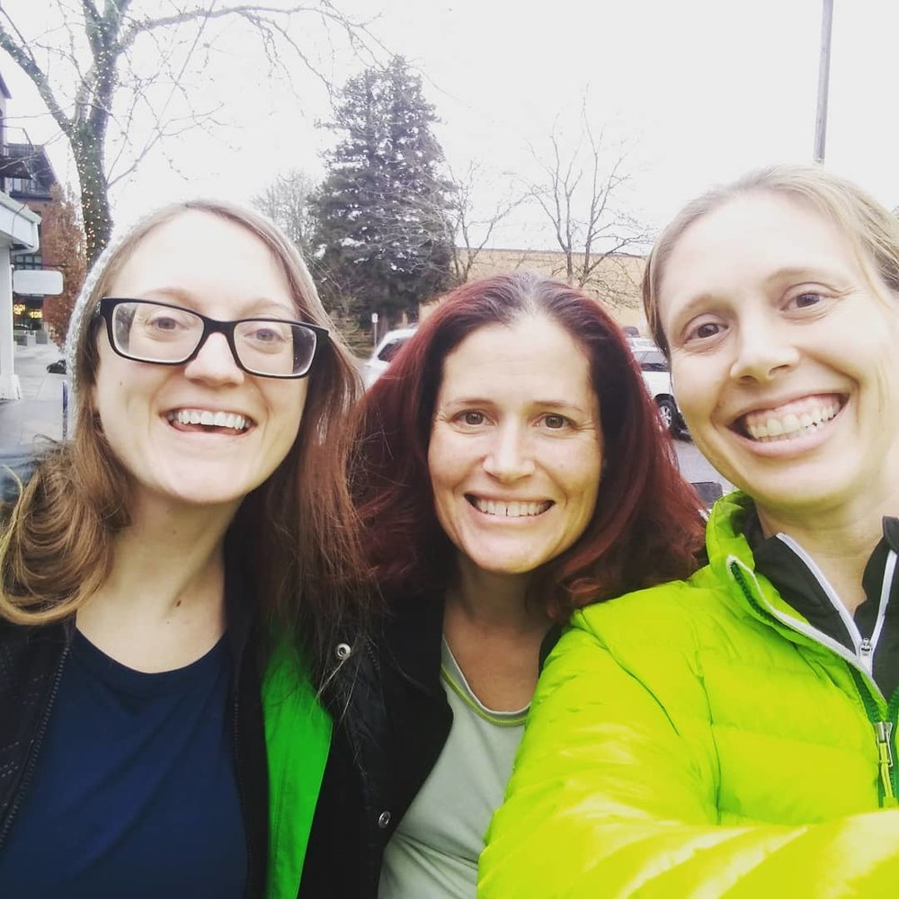 BALG PDX Organizers: Kate Ellingsen, Nikki Mueller, and Kelly Barten -