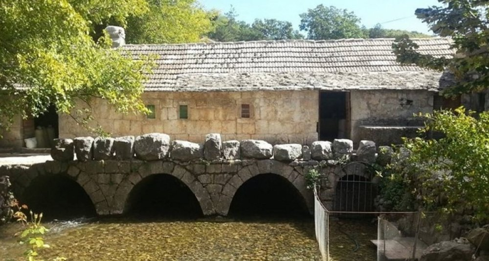 The 15th. century stone mills for which the village is well known throughout Dalmatia and Croatia.