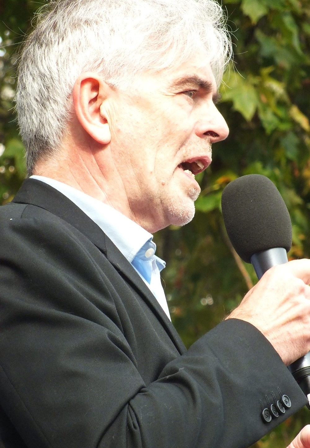 John Sauven , Executive Director of Greenpeace