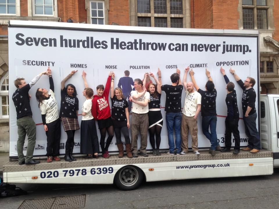 Heathrow 13 highlight the seven hurdles that the airport can never jump.