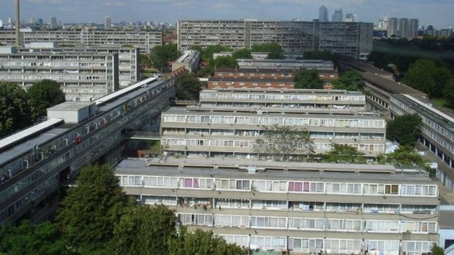 The Aylesbury Estate in Camberwell
