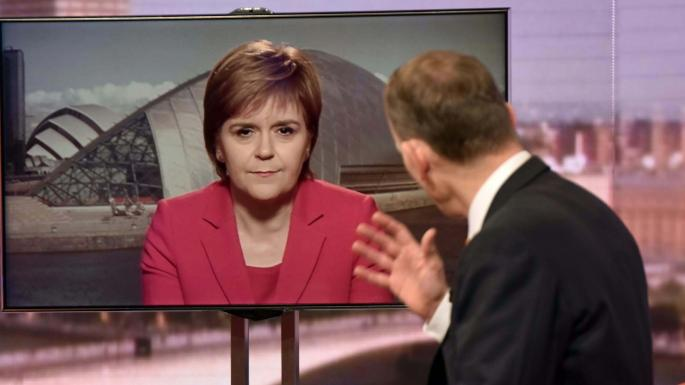 Andrew Marr puts questions to the SNP's Nicola Sturgeon, First Minister of Scotland
