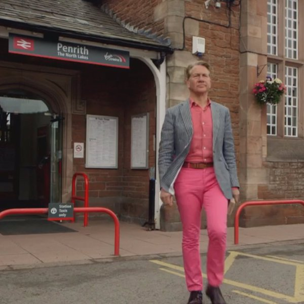 Tough talk from the man who loves a pink ensemble - Train enthusiast Michael Portillo