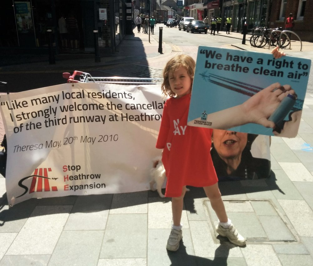 It's not just about noise, it's about air pollution and our children's future too