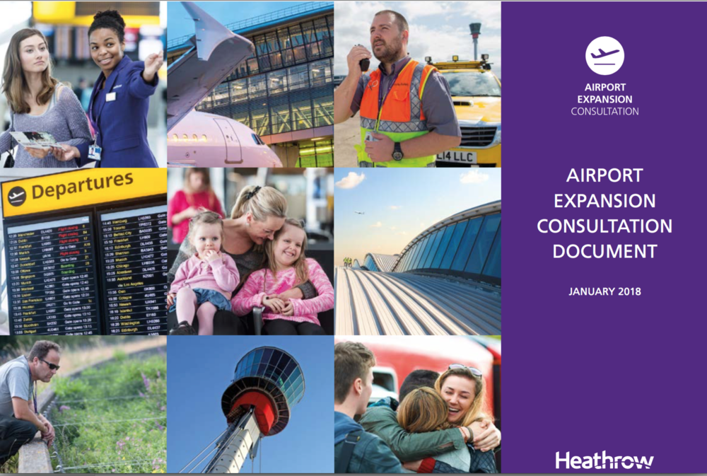 Heathrow Expansion consultation document