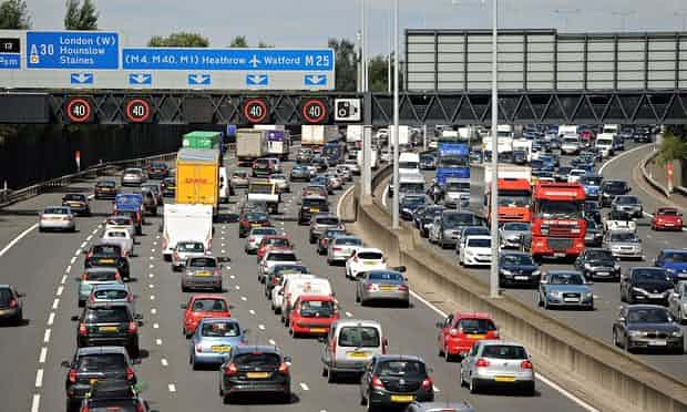 All it takes is an accident on the route to Heathrow on the M25 to cause major disruption