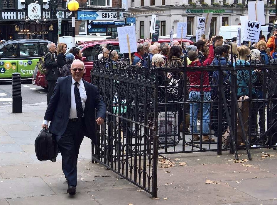 Lawyer and noise sufferer Neil Spurrier deserves praise for going into battle as an individual