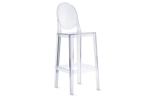 Delicieux Victoria Ghost Clear Bar Stool
