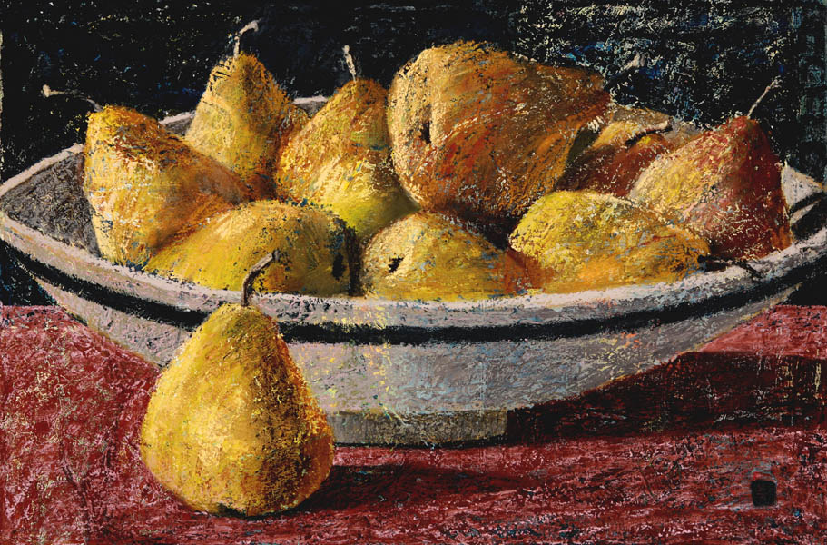 #1041 ROMAN STILL-LIFE WITH PEARS, 2007