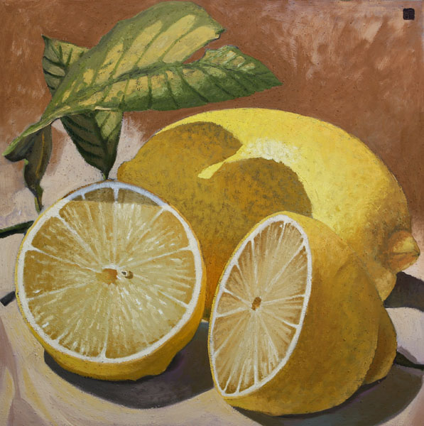 #1130 ONE AND TWO HALVES LEMONS, 2008