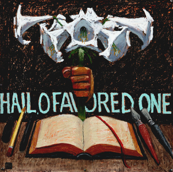 #1028 HAIL, O FAVORED ONE #1, 2007