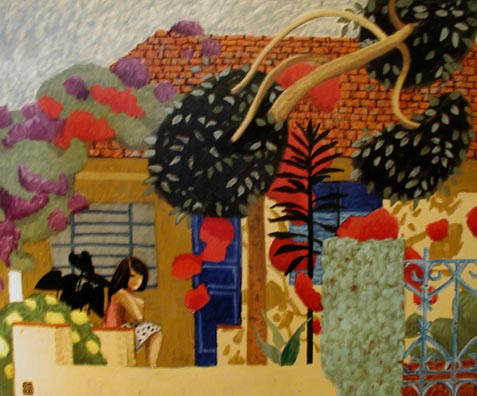 #216 BRAZILIAN HOUSE WITH GIRL, 2000