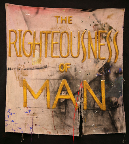 #980 THE RIGHTEOUSNESS OF MAN, 2006