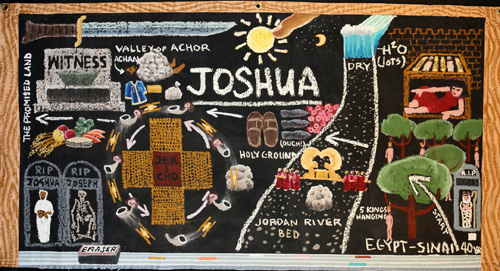#970 JOSHUA (Chalk-Talk), 2006
