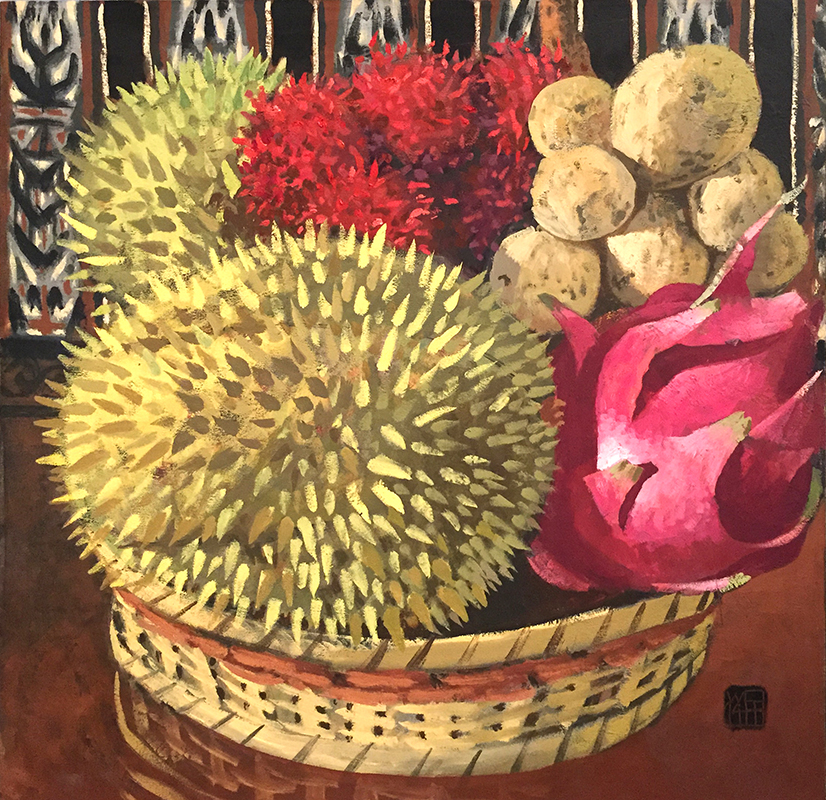 Small Still-life with Durian, 2015