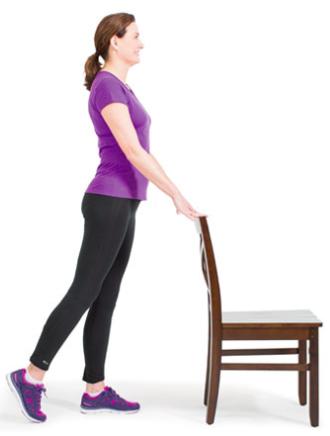 Standing Back Leg Slide