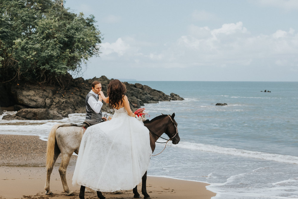 destination wedding drake bay costa rica