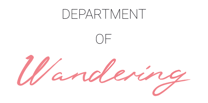 Department of Wandering