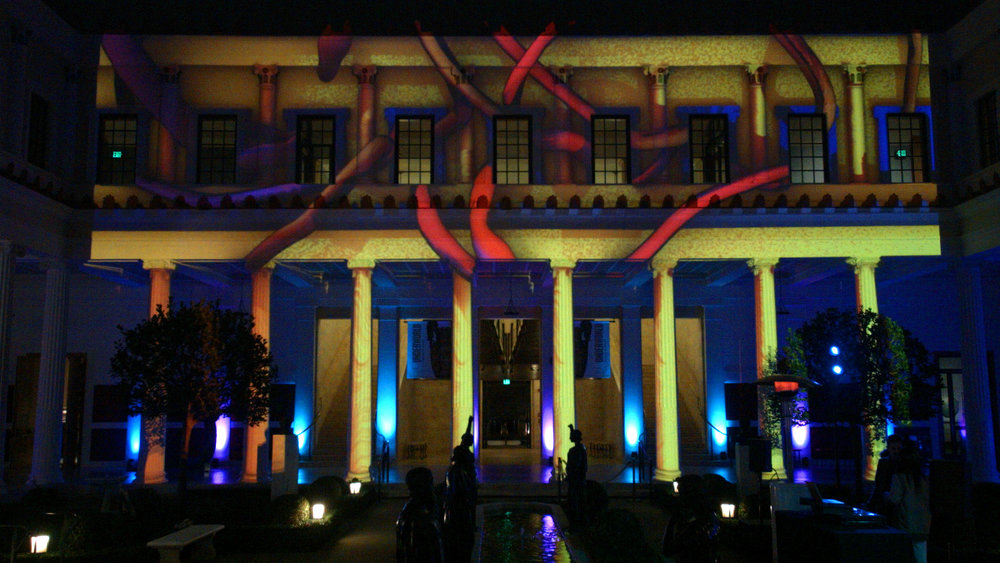 - Outer Peristyle Snakes/ Building Projection/ Jan 2019