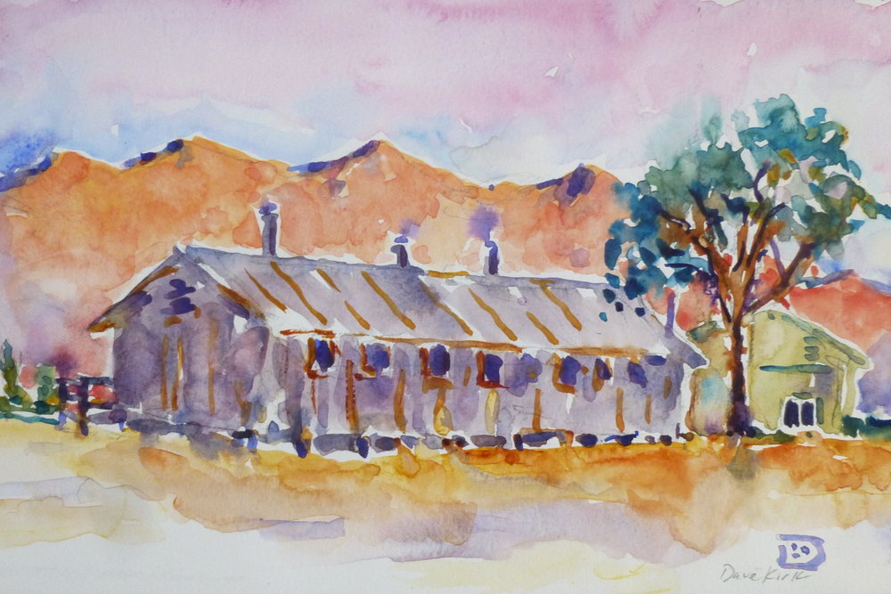 3_Kirk watercolor Manzanar barracks.JPG
