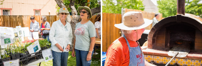 Photo Caption 1: Purchase plants and mingle with friends and neighbors on a fun filled Saturday to celebrate all things spring. Photo Caption 2: Visitors at GardenFest can enjoy brick-oven pizza, live music and more!