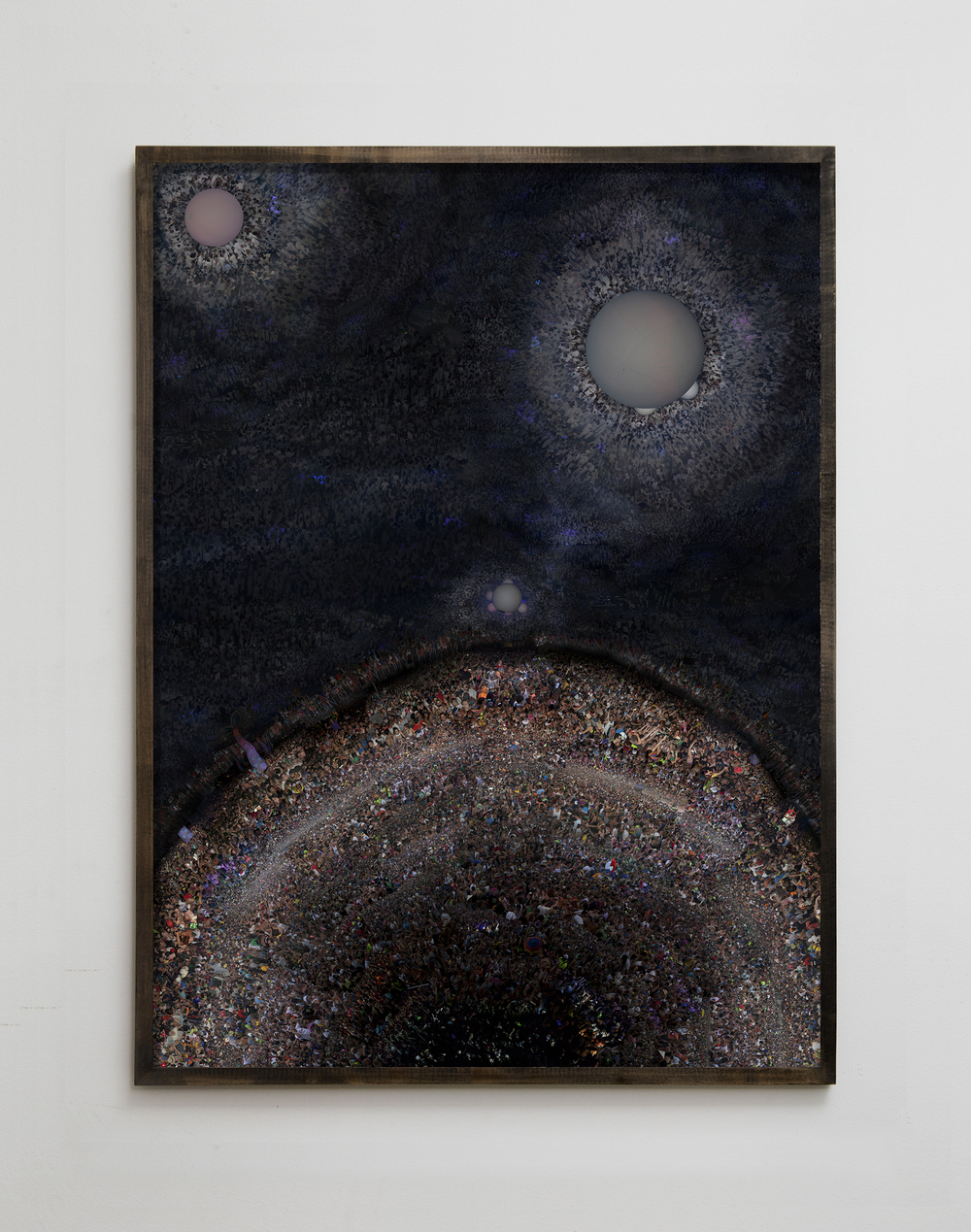 Untitled (New York, Monegros Desert) Digital C Print. 60x81 inches