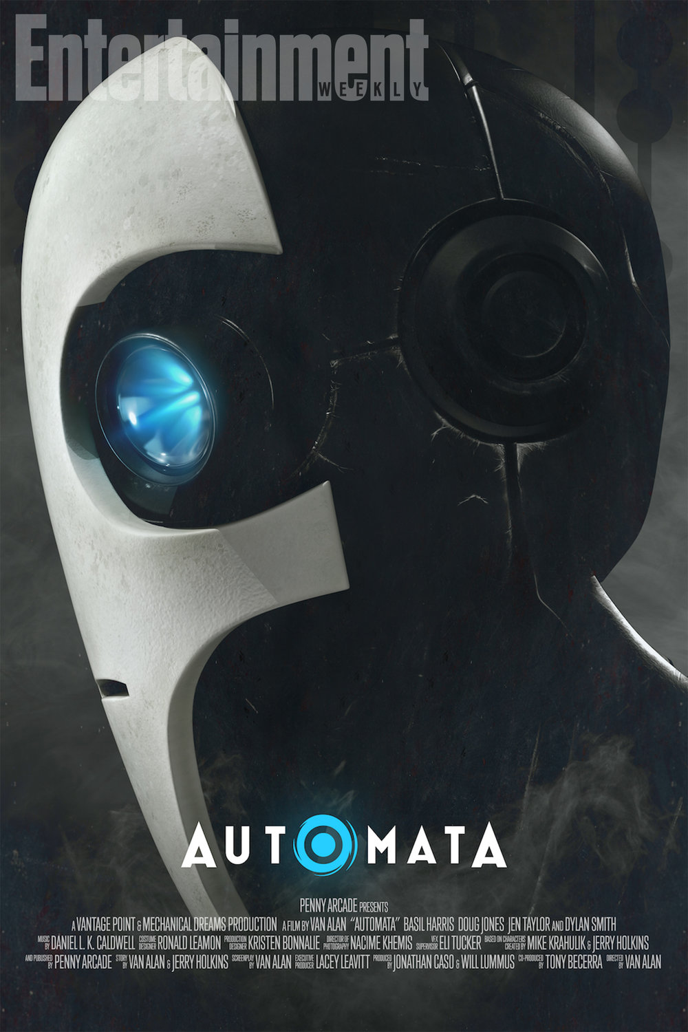 Entertainment Weekly debuted the exclusive trailer for Automata.    [click link here]