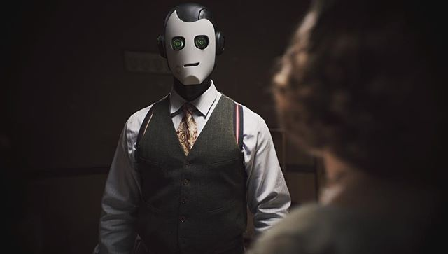🤖 have feelings too. #automata #filmproduction #screengrab #sciencefiction #syfy #noir #filmmaker #filmmaking #filmmaker🎥 #cgi #vfx #robot #automaton #moviemaking