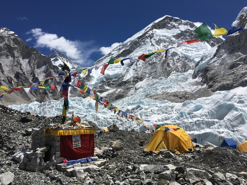 Our section of Everest Base Camp