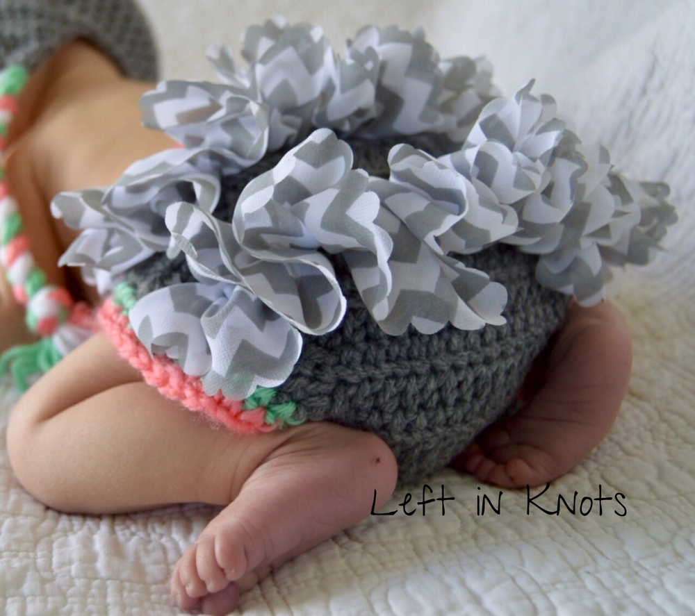 Free Pattern: Ruffle Accent Diaper Cover — Left in Knots