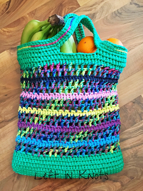Open Air Market Bag Free Pattern Left In Knots