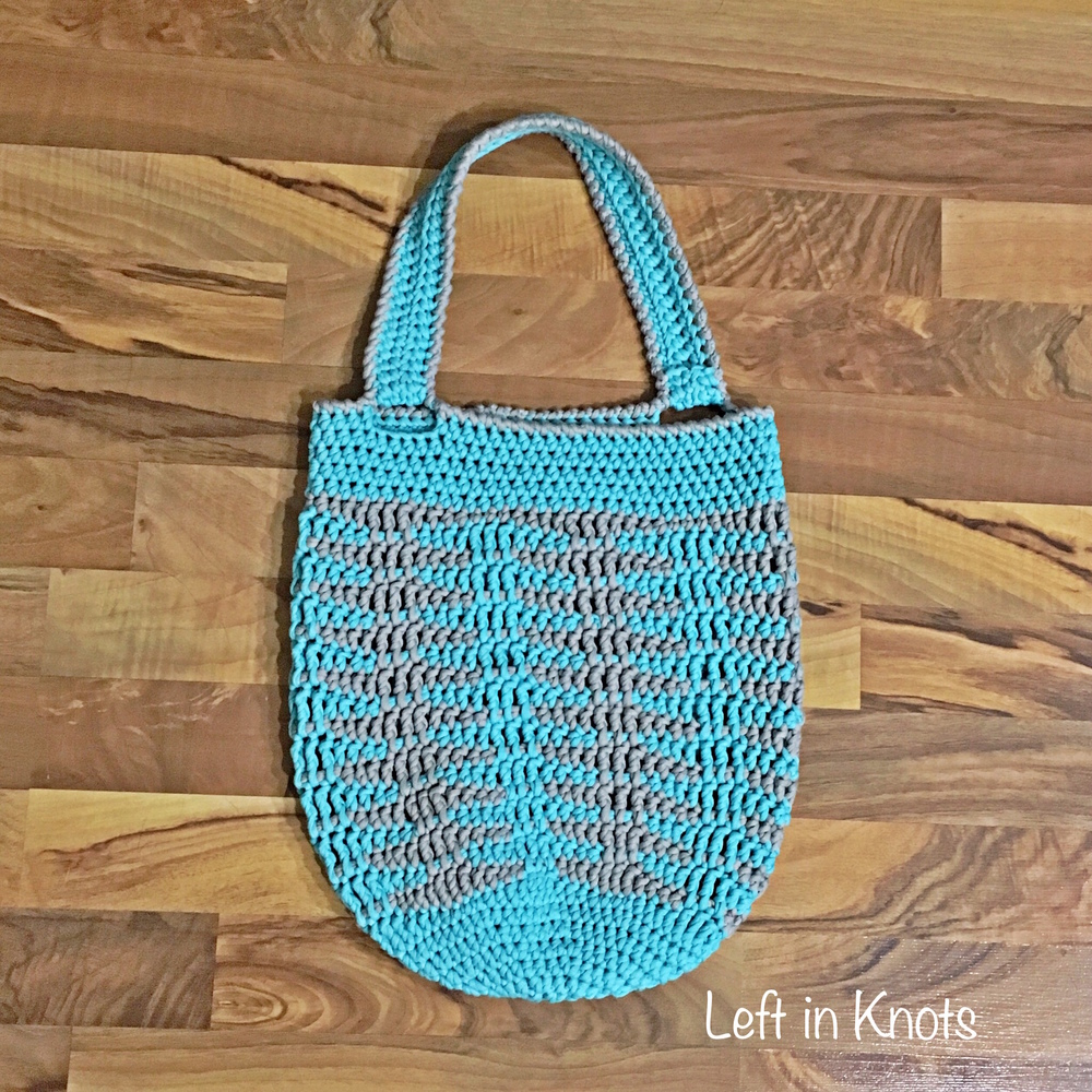 Illusions Tote Bag — Left in Knots