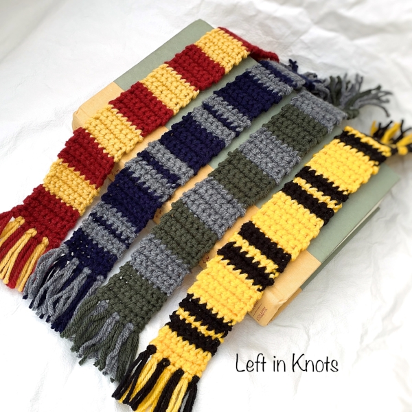 Harry Potter Inspired Bookmarks Left In Knots