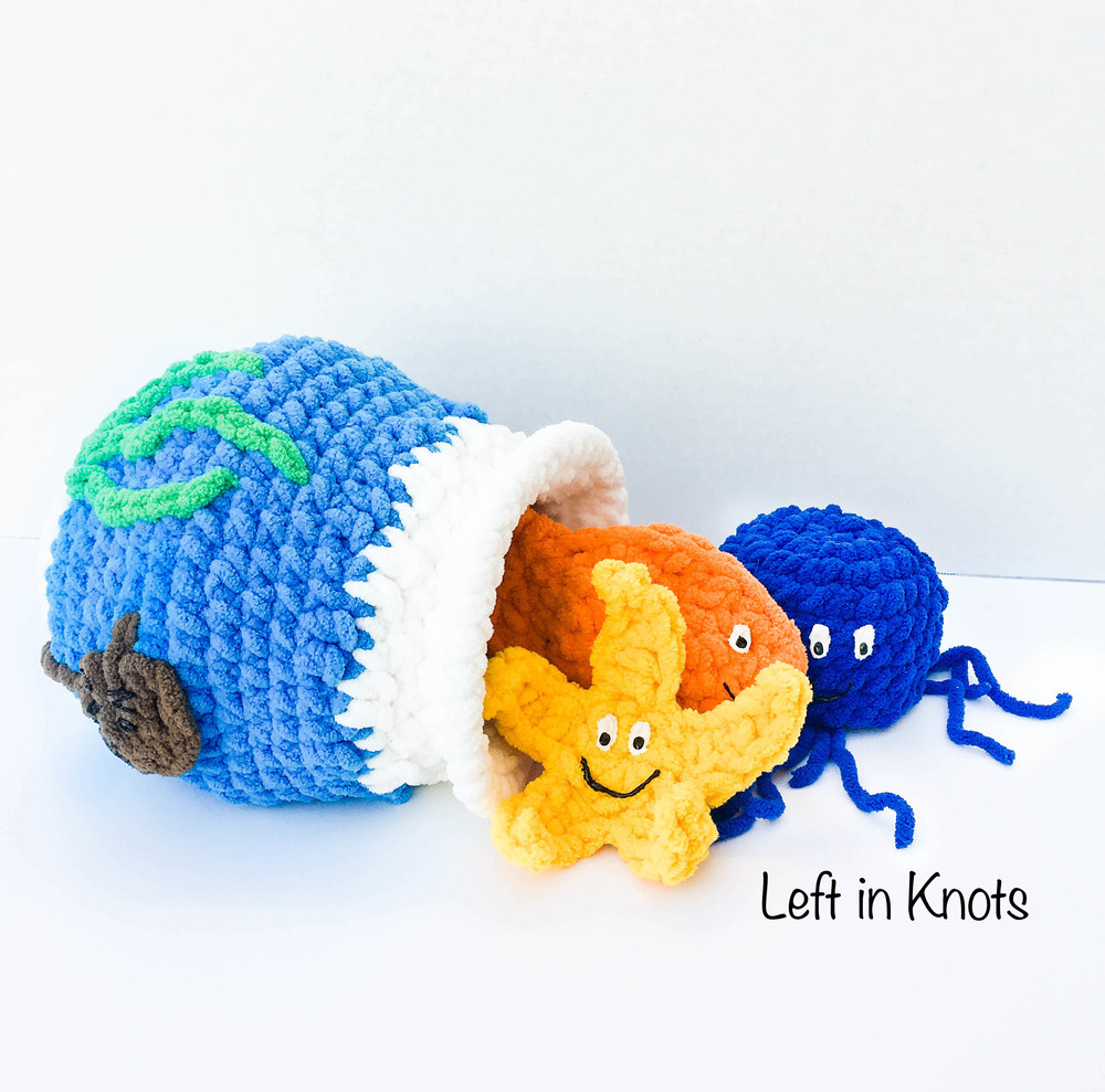 Stuff And Spill Fish Bowl Free Crochet Pattern Left In Knots