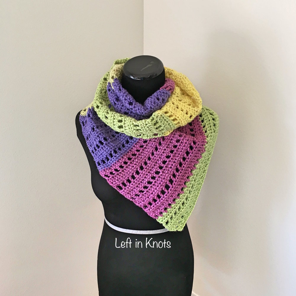 Autumn Chill Angled Super Scarf Free Crochet Pattern Left In Knots Shawl Patterns With Diagrams Open Air Market