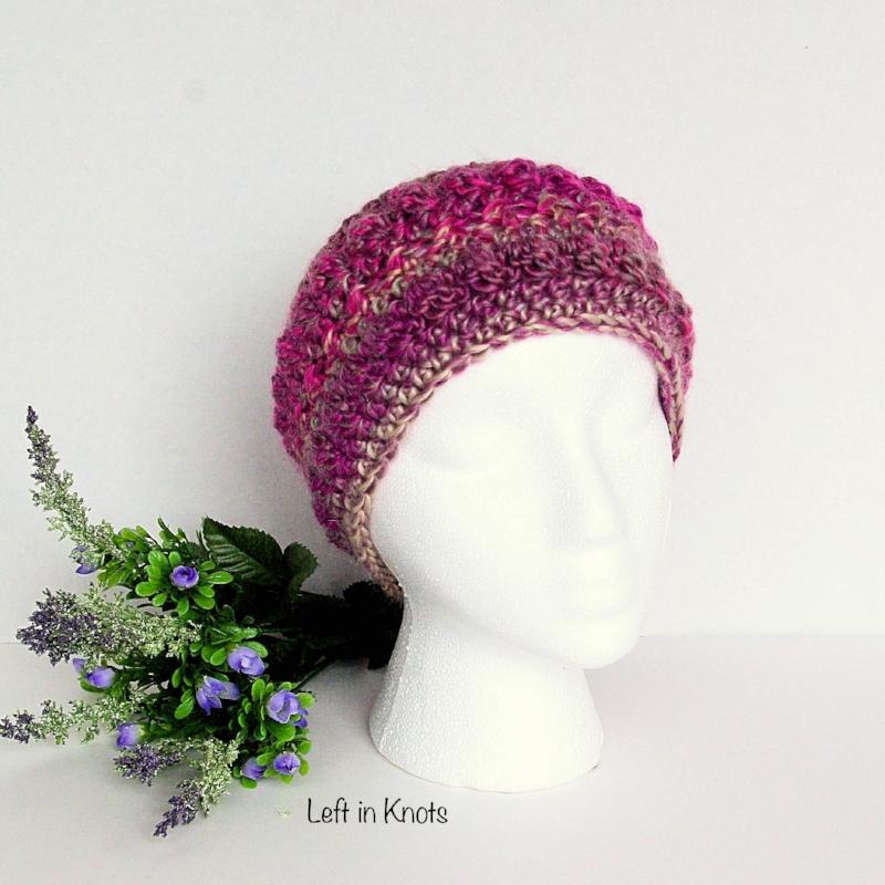 Autumn Chill Ear Warmer Free Crochet Pattern For Beginners Left