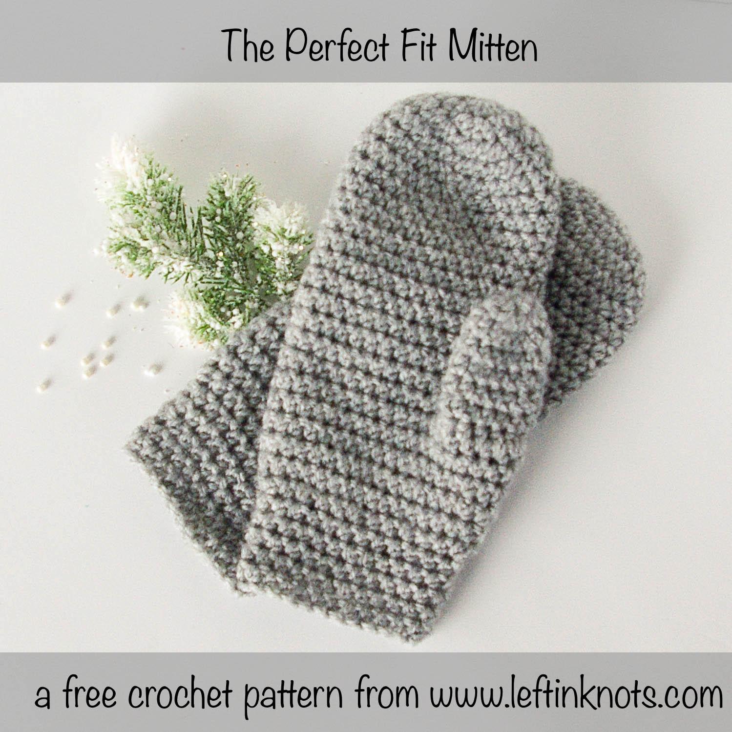 #M240 Holidays 1 New Mitt Will Match Crochet Towel #M231