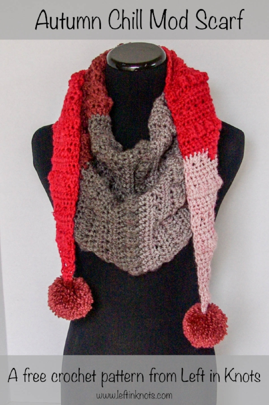 Autumn Chill Mod Scarf — Left in Knots