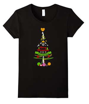 """Merry Crochet and Happy New Yarn"" T-shirt"