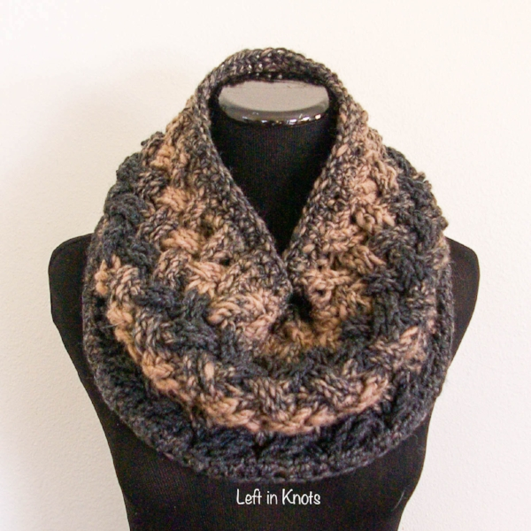 Celtic Winters Cowl Left In Knots