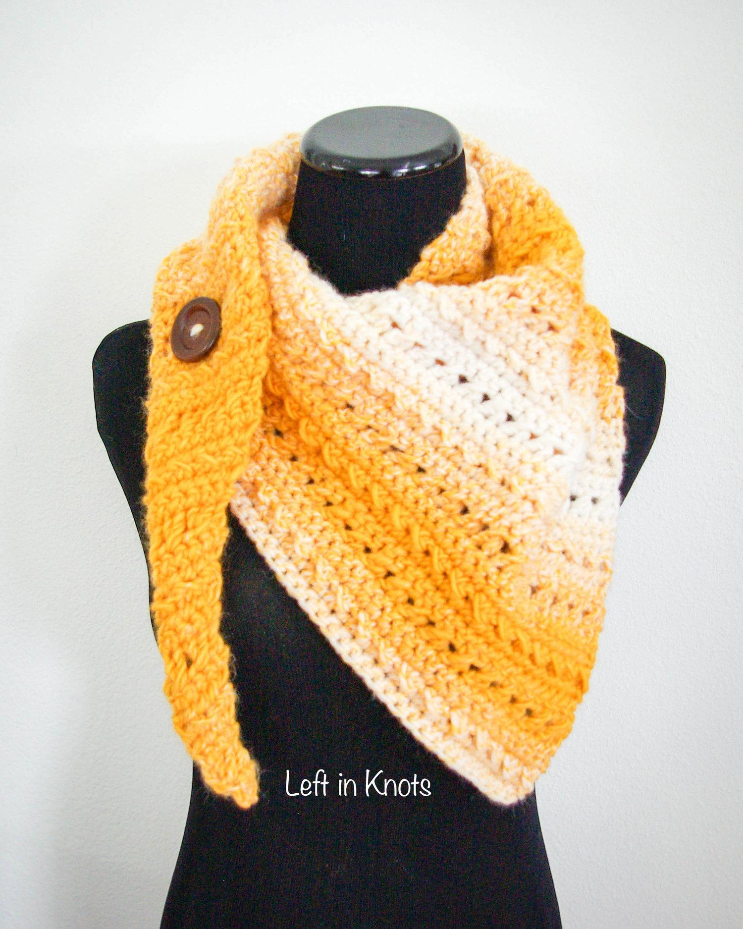 8a6100803125e Winter Rays Scarf - Free Crochet Pattern — Left in Knots