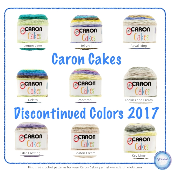 Discontinued Caron Cakes