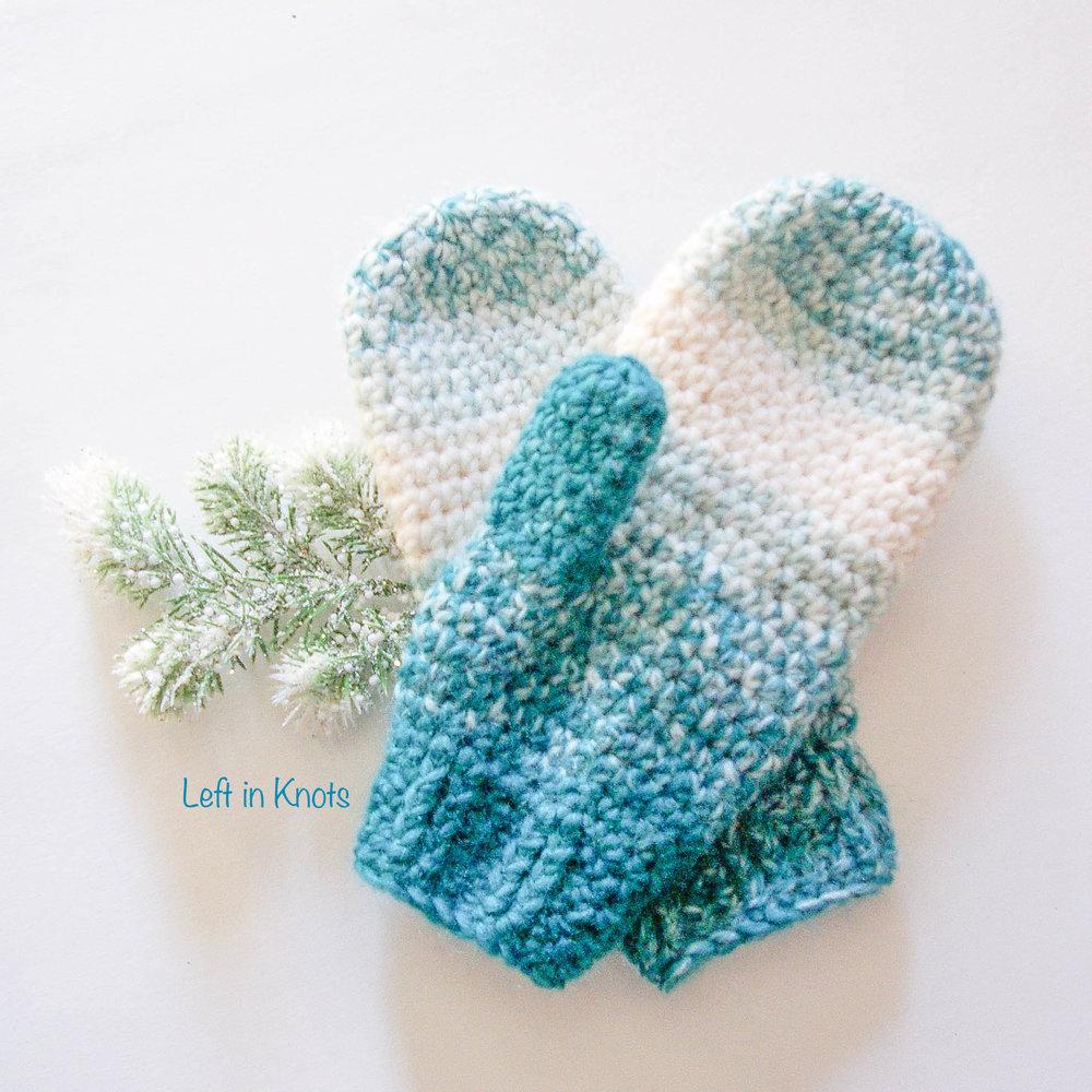 Warm Wool-ish Mittens