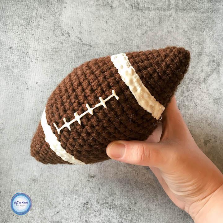 Amigurumi Football Free Crochet Pattern For The Super Bowl Left