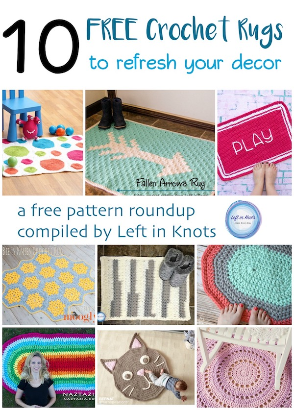 10 Free Rug Patterns To Refresh Your Decor Left In Knots